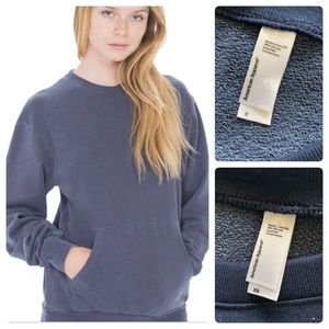 American Apparel // Pullover with Kangaroo Pocket